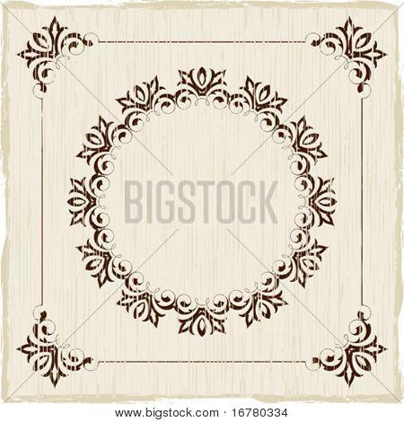 Vintage Frame, Border Design