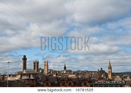 Glasgow na Escócia