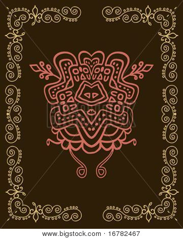 Folk, tribal Designs, Motif, wall painting