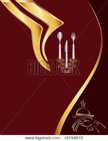 Diseño de la tarjeta de menú