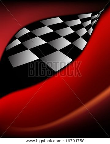 Race Flag Background design