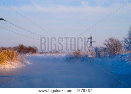 Non-Freezing River