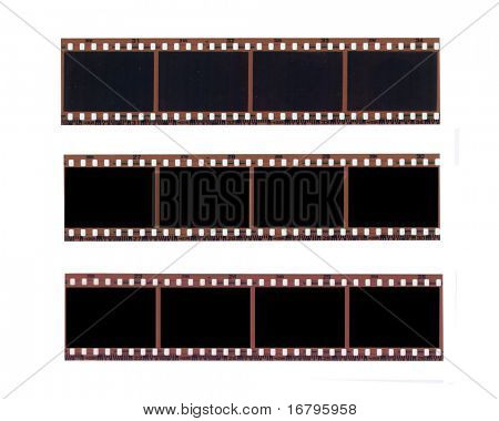 Farbe negativen Film-set