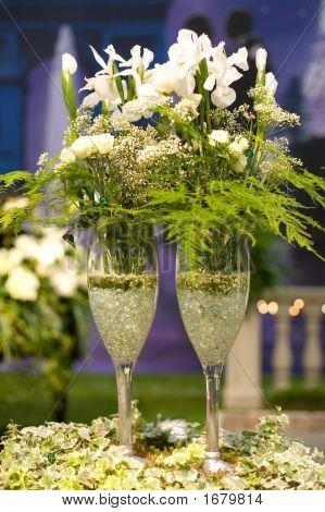 Champagner Blumen
