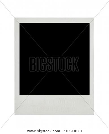 Blank photo card, hi-res