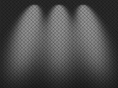 Metal net texture background.