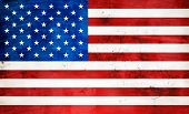picture of american flags  - American flag background - JPG