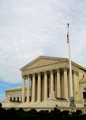 picture of supreme court  - The Supreme Court of the United States in Washington DC - JPG