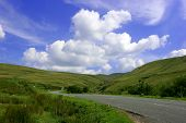 picture of colouder  - the mountain road - JPG