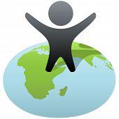 foto of eastern hemisphere  - Everybody wants to rule the world - JPG