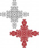 stock photo of christian cross  - Christian Cross - JPG