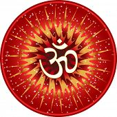 picture of swastik  - Aum Festival design - JPG