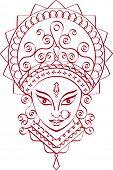 foto of kali  - Durga - JPG
