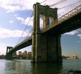 picture of brooklyn bridge  - brooklyn bridge - JPG