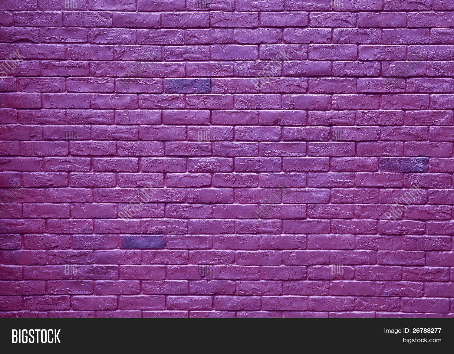 Abstract purple rough grunge brick image photo bigstock for Purple brick wallpaper
