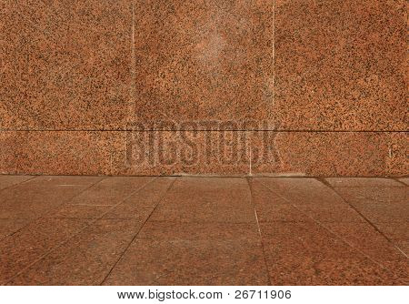 polished red marbled granite texture for background