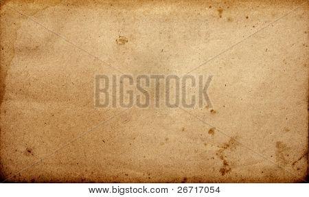 Grunge vintage old paper sheet