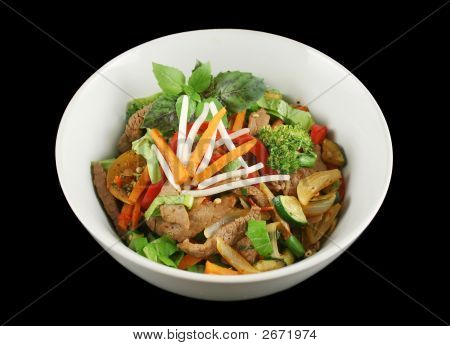 Stirfry Beef And Vegetables 1