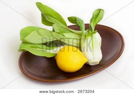 Pak Choi & Lemon