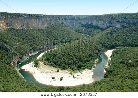 Isthmus - Ardeche Gorges