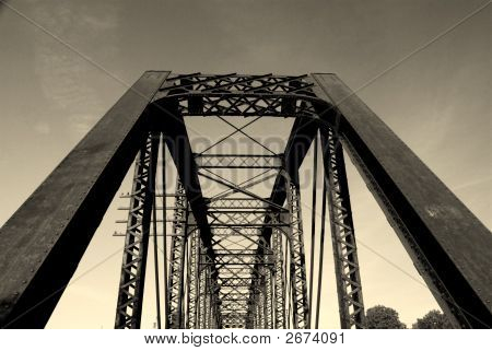 Old Iron Railroad Bridge