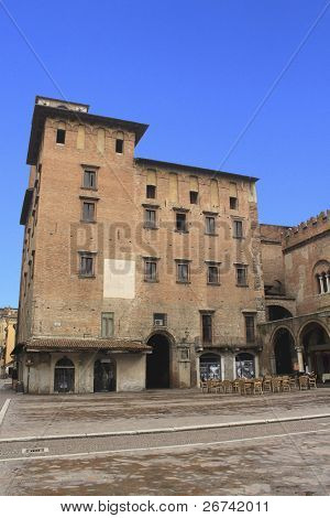 Palazzo del Podesta, Mantua, Italy