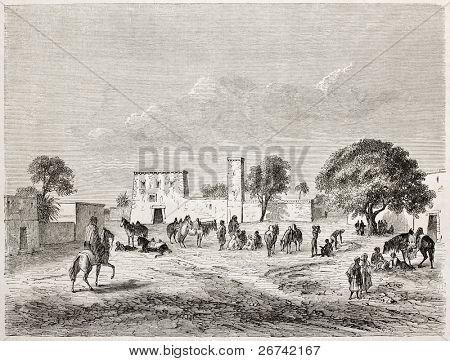 Kouka Ver velho, antiga capital do Império de Bornu, (na região de Chade, Níger e camarões dias atuais). C