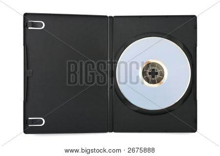 Computer Dvd Disk In Case