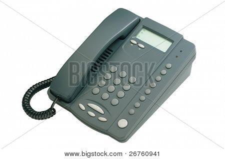 clipping path of the single line phone