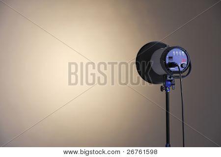 stock image of the studio light
