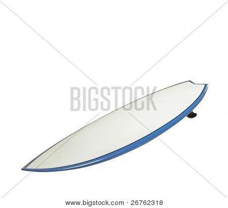 surf board with clipping path