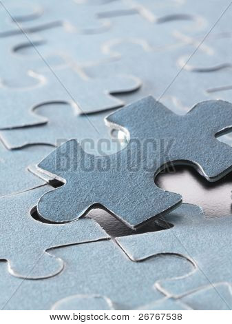 the right jigsaw puzzle to fit in.