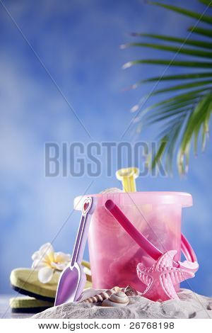 Stock image of a beach.