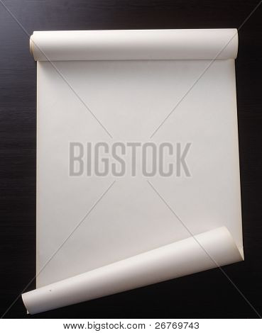 Foto stock de rollo de papel