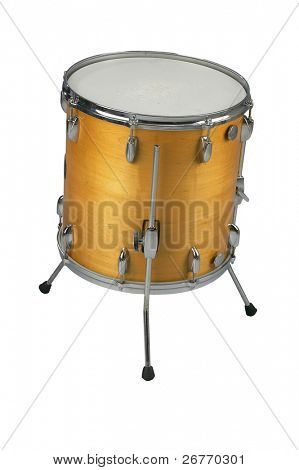 stock image of the musical instrument floor tom
