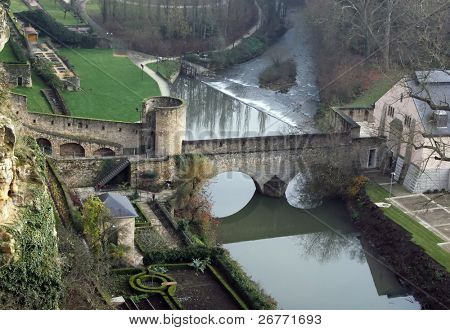 Medieval fortifications in Luxembourg
