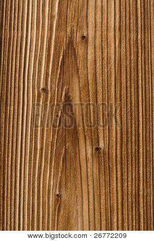 Tarry wooden texture close up