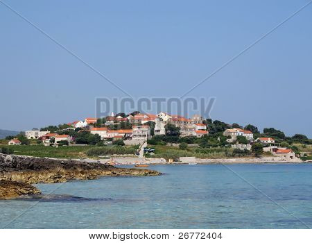 Croatian landscape (Korcula island)