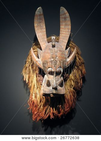 African mask (Congo masks collection)