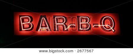 Bar-B-Q Neon Sign