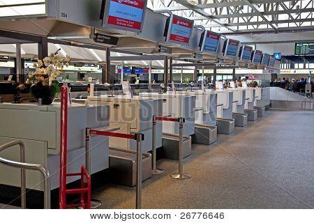 ZURICH - APRIL 17: Zurich airport closed due to Volcanic eruption, 17 April 2010 in Zurich, Switzerland.