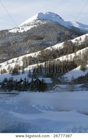 Winter In Pragelato