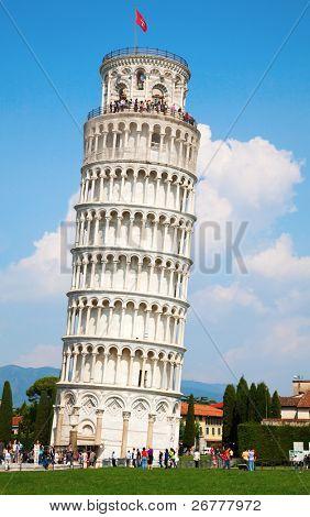 schiefen Turm von Pisa, Toskana, Italien