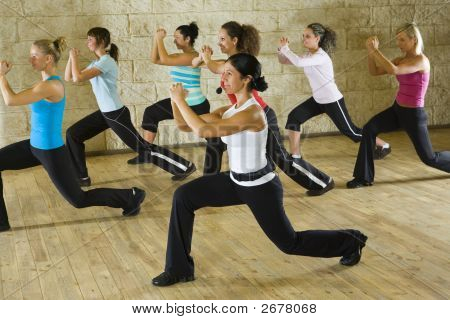 Women At Fitness Club