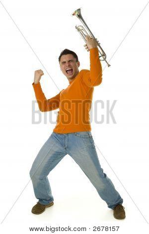 Screaming Trumpeter