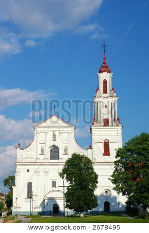 Catholic Cathedral, Frontal View