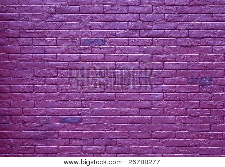 abstract purple  rough grunge brick wall background