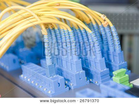 internet network server room