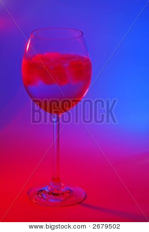 A Cocktail In Colorful Light