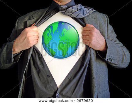 Superhelden-Weltkarte